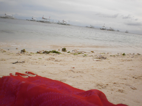 things to do in Bohol: camp out in the beach