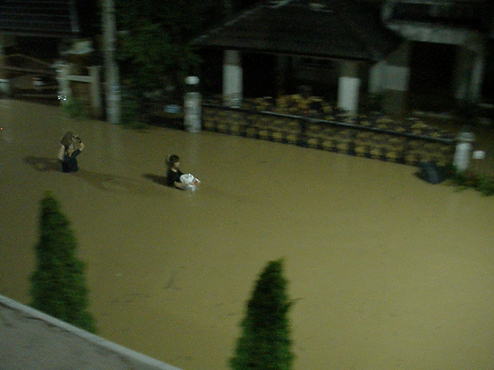 flood in chiang mai