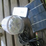 Solar Powered Lightbulb and Lamp