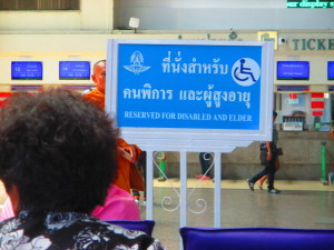 Tips and observations when traveling with elderly people