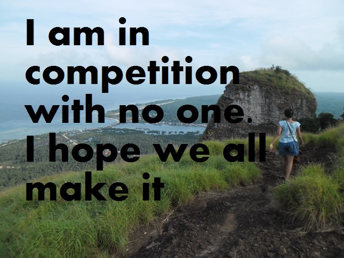 quote about competition