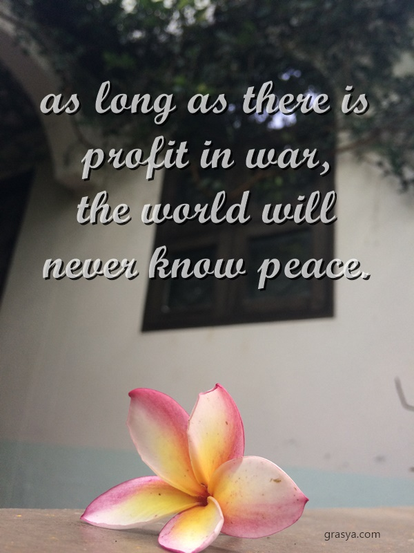 profit in war
